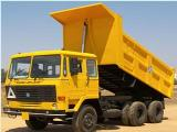 Ashok Leyland Ecomet 912 912 Tipper Truck For Rent.