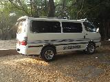 Toyota HiAce LH172 Van For Rent.