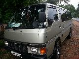 Nissan Caravan  Van For Rent.