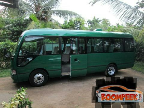 Toyota Coaster Hino Bus For Rent