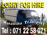 Mitsubishi Canter 10.5 Feet full body Lorry (Truck) For Rent.
