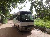 Toyota Coaster HDB50 Bus For Rent.