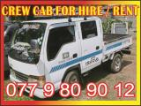 CREW CAB For Hire Or Rent Lorry (Truck) For Rent