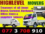 Moving service &  Transports  Lorry (Truck) For Rent.