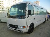 Mitsubishi Rosa fuso Bus For Rent.