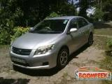 Toyota Axio NZE141 Car For Rent.