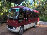 Mitsubishi Rosa  Bus For Rent.