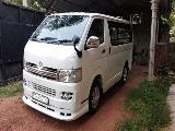 Toyota HiAce KDH205 Van For Rent.