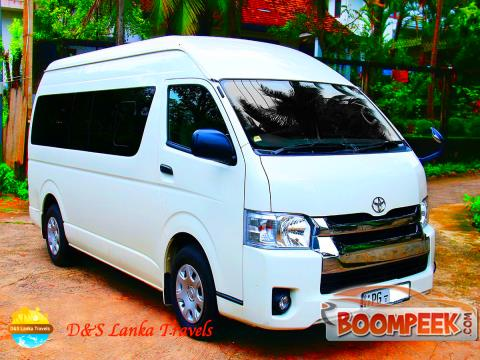 Toyota RegiusAce KDH 223 Van For Rent In Sri Lanka - Ad ID