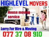 Highlevel Movres Lorry For House