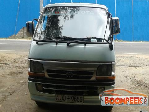 Toyota HiAce LH172 Van For Rent