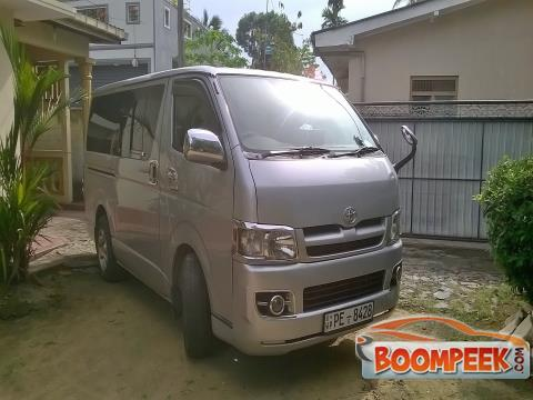 Toyota HiAce KDH200 Van For Rent In Sri Lanka - Ad ID