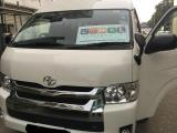 Toyota HiAce KDH201 Van For Rent.