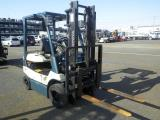Toyota 1.5 Ton Electric  ForkLift For Rent.