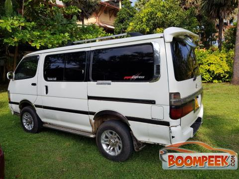 Toyota HiAce LH100 Van For Rent