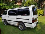 Toyota HiAce LH100 Van For Rent.