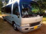 Toyota Coaster Xz51 Bus For Rent.
