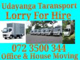 Lorry for hire  Moving service  Lorry (Truck) For Rent