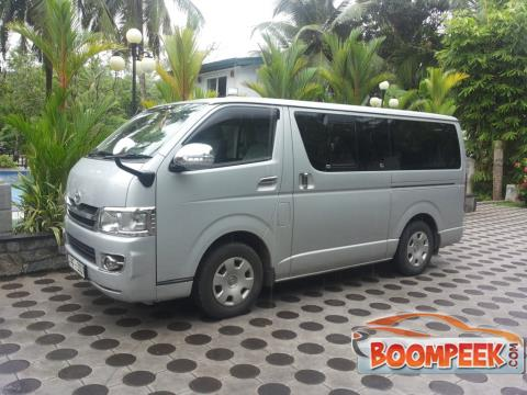 Toyota HiAce KDH201 Van For Rent