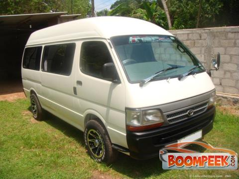 Toyota HiAce LH129 Van For Rent