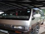 Nissan Caravan TD27 Van For Rent.