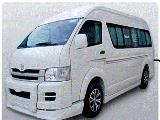Toyota HiAce KDH200 Van For Rent.