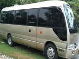 Toyota Coaster  Bus For Rent.