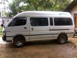Toyota HiAce LH125 Van For Rent