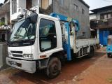 Izusuw Forward Constructional Vehicle For Rent