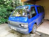Nissan Vanette Van For Rent