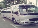 Toyota Coaster XZ Bus For Rent.