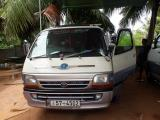 Toyota HiAce LH102 Van For Rent