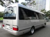 Toyota Coaster NG XXXX Bus For Rent.