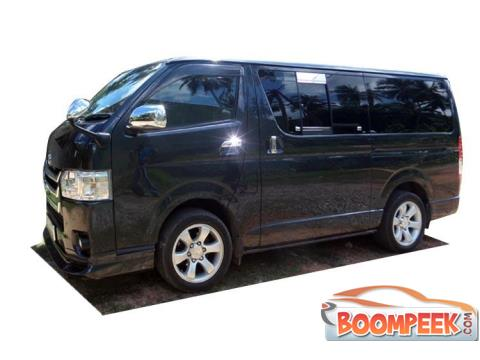 Toyota HiAce petrol Van For Rent