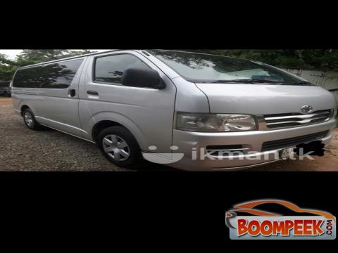 Toyota HiAce KDH200 Van For Rent