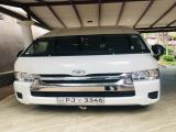 Toyota HiAce KDH221 Van For Rent