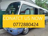 Toyota Coaster 29 SEATER Bus For Rent