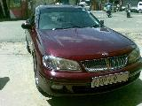 2001 Nissan Bluebird Sylphy  Car For Sale.