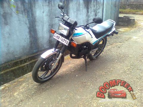 Yamaha RZ 125 (wp-HA-4***) Motorcycle For Sale