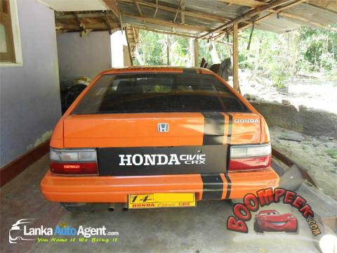 ... Honda Civic CRX Sport Car For Sale