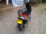 2008 TVS Scooty Streak 90cc Motorcycle For Sale.