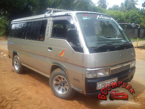 nissan caravan van for sale in sri lanka ad id cs00004231 sri lanka auto. Black Bedroom Furniture Sets. Home Design Ideas