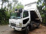 2002 Mitsubishi FUSO FIGHTER 6m61 Tipper Truck For Sale.