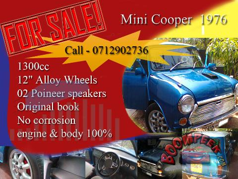Austin Mini Cooper Car For Sale In Sri Lanka Ad Id Cs00004983