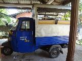 2009 Piaggio Ape Cargo D600 pickup  Threewheel For Sale.