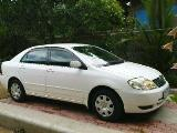 2004 Toyota Corolla 121 Car For Sale.