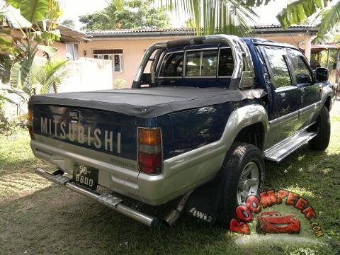 mitsubishi strada k 34 cab pickup truck for sale in sri lanka ad id cs00006651 boompeek. Black Bedroom Furniture Sets. Home Design Ideas