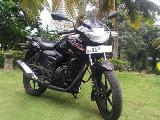 2012 TVS Apache RTR 150 Motorcycle For Sale.