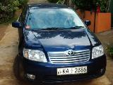 2005 Toyota Corolla 121 Car For Sale.
