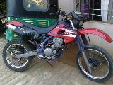 1996 Kawasaki KLX 250  Motorcycle For Sale.